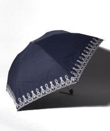 "LANVIN Collection(umbrella)/LANVIN COLLECTION 晴雨兼用折りたたみ傘 ""レースラメ刺繍""/502931695"