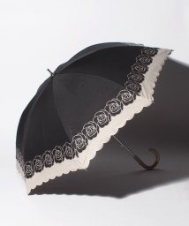 "LANVIN Collection(umbrella)/LANVIN COLLECTION 晴雨兼用傘 ""バイカラーローズ刺繍""/502931698"
