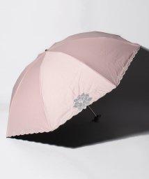 "LANVIN Collection(umbrella)/LANVIN COLLECTION 晴雨兼用折りたたみ傘 ""オーガンジーカットワーク""/502931701"