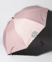 "LANVIN Collection(umbrella)/LANVIN COLLECTION 晴雨兼用折りたたみ傘 ""オーガンジーカットワーク""/502931703"