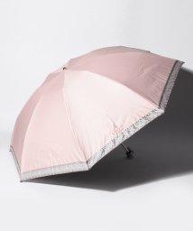 "LANVIN Collection(umbrella)/LANVIN COLLECTION 晴雨兼用折りたたみ傘 ""オーガンジーテープ刺繍""/502931704"