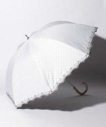 "LANVIN Collection(umbrella)/LANVIN COLLECTION 晴雨兼用傘 ""ドット 刺繍""/502931718"