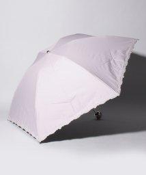 "LANVIN Collection(umbrella)/LANVIN COLLECTION 晴雨兼用折りたたみ傘 ""裾ロゴ刺繍""/502931719"