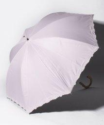 "LANVIN Collection(umbrella)/LANVIN COLLECTION 晴雨兼用傘 ""裾ロゴ刺繍""/502931720"