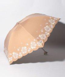 """LANVIN en Bleu(umbrella)/LANVIN en Bleu 晴雨兼用折りたたみ傘 """"フラワー ハート""""/502931728"""