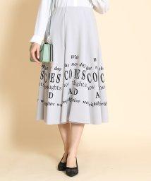 SCOTCLUB/SCOTCLUB(スコットクラブ)ロゴデザインポンチスカート[手洗い可]/502947021
