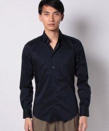 SISLEY/サテンストレッチドレスシャツ/503009962