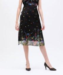 LOVELESS WOMEN/nowartt シアー レイヤード スカート/503010641