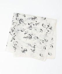 BEAUTY&YOUTH UNITED ARROWS/BY シルクフラワースカーフ/503023361