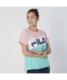 FILA/【FILA】MVS天竺 切替Tシャツ/503031652