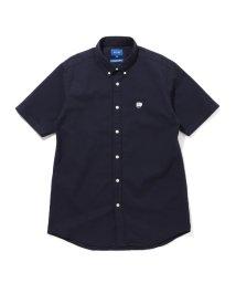 BEAMS MEN/BEAMS / ストレッチ オックスフォード ワンポイント ミニボタンダウンシャツ/503040134