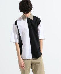 TOMORROWLAND MENS/コットンタイプライター デザインショートスリーブシャツ tricot shirt/503040157