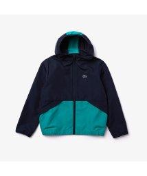 LACOSTE KIDS/Boy's撥水バイカラーウインドブレーカージャケット/503040210