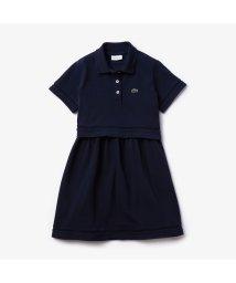 LACOSTE KIDS/Girls ポロスタイルセットアップワンピース/503040222