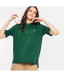 LACOSTE/ルーズフィットストレッチピケポケットポロシャツ (半袖)/503040240
