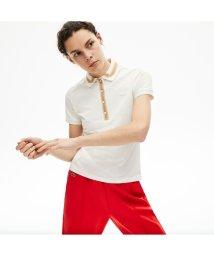 LACOSTE/スリムフィット コントラストリブカラーデザインポロシャツ (半袖)/503040243