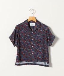 SHIPS any WOMENS/SHIPS any: PARIS プリント オープンカラー 半袖シャツ<KIDS>/503041241