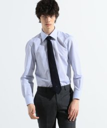 TOMORROWLAND MENS/120/2ギザコットンリネンシャンブレー セミワイドカラー ドレスシャツ ALUMO ZEPHIR LINO/503041832