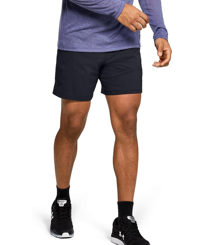 Under Armor Mens Speedpocket Printed 7 Shorts