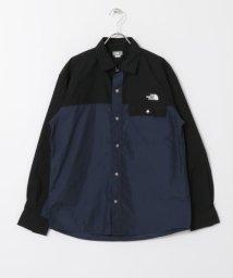 URBAN RESEARCH DOORS/THE NORTH FACE Long-sleeve Nuptse Shirts/503042833