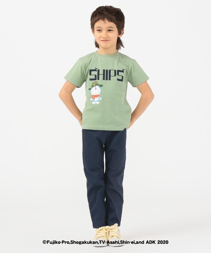 シップス SHIPS KIDS: SOLOTEX(R) 5ポケット パンツ(100〜130cm) キッズ ネイビー 130 【SHIPS】