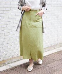 SLOBE IENA/リネン混セミタイトスカート◆/503043041