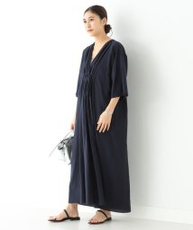 Demi-Luxe BEAMS/Demi-Luxe BEAMS / シルク フロントギャザー ワンピース/502878864