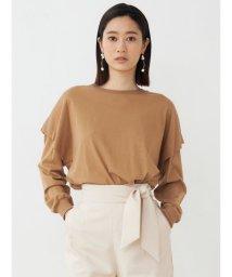 LAGUNAMOON/タックスリーブロングTシャツ/502998770