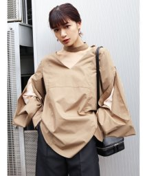 EMODA/スリーブレイヤー2WAYシャツ/503008922