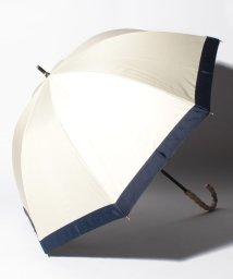pink trick/完全遮光 晴雨兼用 長傘 グログラン 遮光率100% 遮蔽率100% 1級遮光 遮熱 軽量 UVカット /503015271