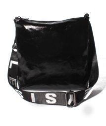 SISLEY/グラスキャンバスロゴベルトショルダーバッグ/503021549