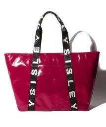 SISLEY/グラスキャンバスロゴトートバッグ/503021550