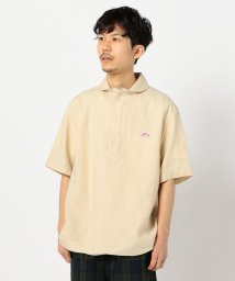 GLOSTER/【DANTON/ダントン】リネン丸襟半袖シャツ #JD-3569 KLS/503028005