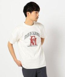 FREDYMAC/FREDYMAC UNIVERSITY  カレッジロゴ プリント  Tシャツ/503028008