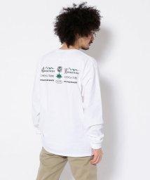 BEAVER/MANASTASH/マナスタッシュ Mix Logo L/S Tee ミックスロゴロングスリーブティー 長袖Tシャツ/503043139