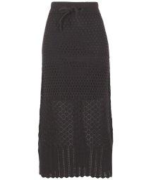 KOBE LETTUCE/透かし編みニットスカート [M2723]/503043678