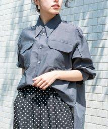 VERMEIL par iena/シースルーナローカラーポケットシャツ◆/503044660