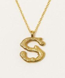 SHIPS any WOMENS/chibi jewels:コーラル イニシャル ネックレス/503045906