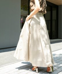 VERMEIL par iena/《追加》カラーグログランタックフレアスカート◆/503046038