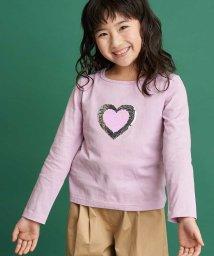 a.v.v(KID'S)/[100-130]トゥインクルスパンコール長袖Tシャツ[WEB限定サイズ]/502981369