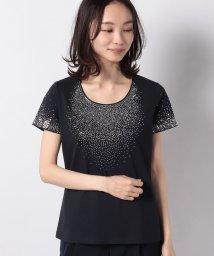 MADAM JOCONDE/【洗える】ストーンTシャツ/コットン天竺/503027523