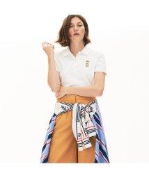 LACOSTE/スリムフィット トリプルワニロゴデザインポロシャツ(半袖)/503046217