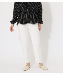 AZUL by moussy/WHITE DENIM TAPERED/503046645