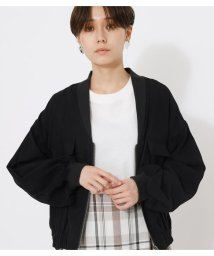 AZUL by moussy/COLLARLESS ZIP BLOUSON/503046652