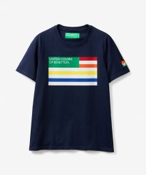 BENETTON (mens)/レインボーフラッグTシャツ・カットソー/503007108