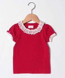 ShirleyTemple/レース付きパフTシャツ(140cm)/503026245