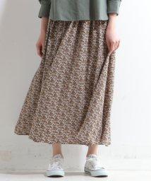MELROSE Claire/【セットアップ対応商品】アンティークフラワープリントスカート/503029785