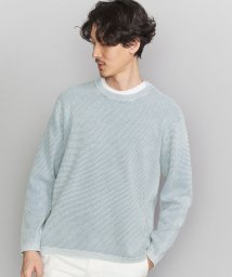 BEAUTY&YOUTH UNITED ARROWS/BY ウォッシュド コットン ワッフル ニット/503030999