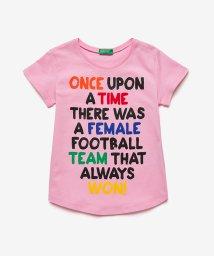 BENETTON (UNITED COLORS OF BENETTON GIRLS)/メッセージポップカラーTシャツ・カットソー/503038548