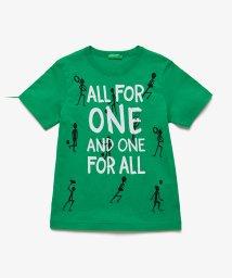 BENETTON (UNITED COLORS OF BENETTON BOYS)/スポーツメッセージTシャツ・カットソー/503038550